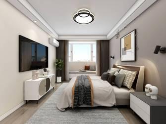 豪华型120平米公寓现代简约风格卧室图片