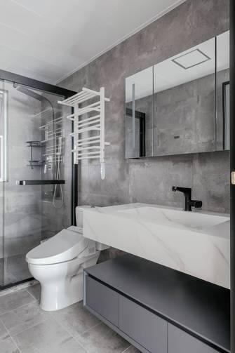 15-20万110平米三室两厅混搭风格卫生间装修效果图