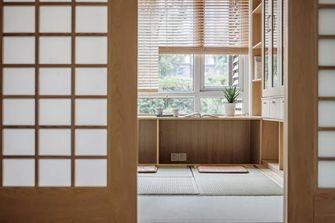 100平米三日式风格书房效果图