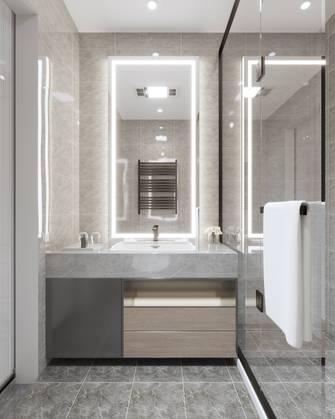 豪华型130平米别墅中式风格卫生间装修案例