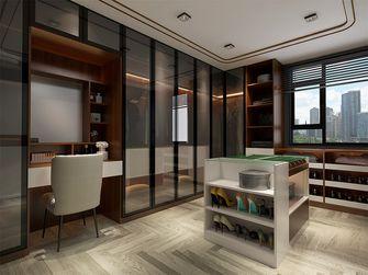 130平米三室两厅中式风格衣帽间图