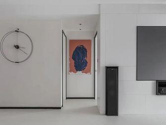 富裕型130平米三室三厅现代简约风格走廊设计图