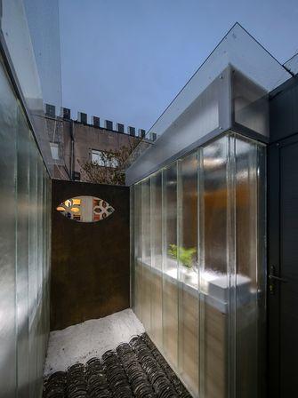 70平米公寓轻奢风格阳台装修图片大全