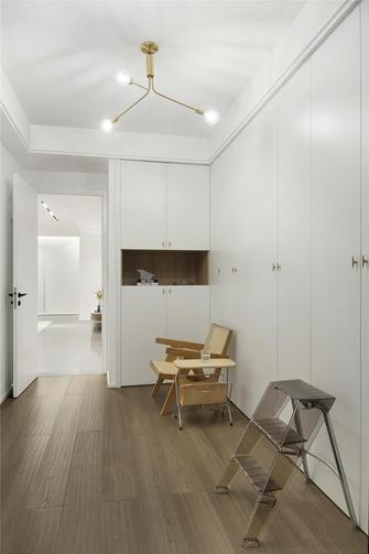 20万以上140平米三室两厅现代简约风格衣帽间装修案例