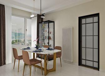 富裕型三室两厅北欧风格餐厅装修效果图