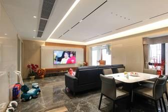 10-15万120平米三室一厅现代简约风格客厅装修效果图