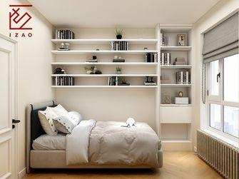 富裕型80平米法式风格卧室图