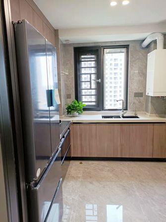 140平米三室一厅港式风格厨房图片