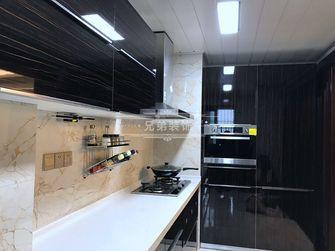 100平米三室两厅港式风格厨房装修案例
