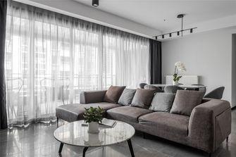 豪华型140平米四现代简约风格客厅图片