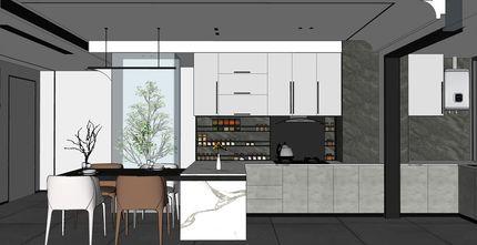 混搭风格厨房效果图