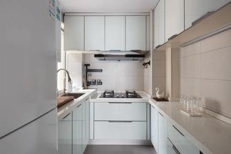 10-15万70平米三现代简约风格厨房装修图片大全