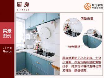 5-10万40平米小户型欧式风格厨房效果图
