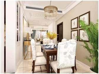 10-15万100平米三室一厅美式风格餐厅图片大全