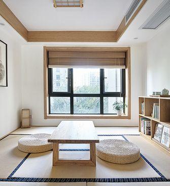 富裕型110平米日式风格书房设计图