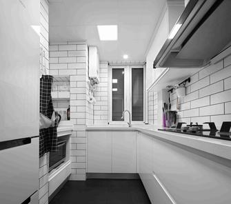 15-20万100平米三室两厅美式风格厨房欣赏图