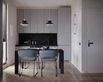 5-10万60平米一居室北欧风格餐厅效果图