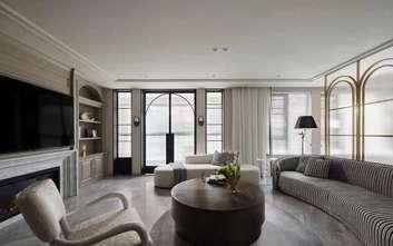豪华型140平米四室三厅美式风格客厅装修效果图