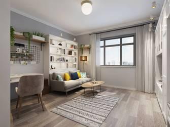 豪华型40平米小户型北欧风格客厅图