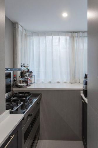 富裕型110平米四室一厅现代简约风格厨房欣赏图