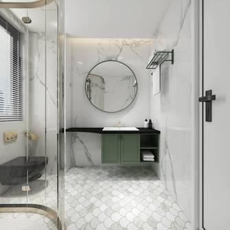 20万以上130平米三室两厅轻奢风格卫生间装修图片大全