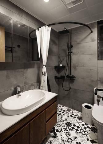 5-10万50平米一室两厅北欧风格卫生间装修图片大全