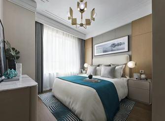 130平米三室一厅轻奢风格卧室图