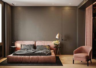 豪华型120平米四室两厅现代简约风格卧室装修图片大全