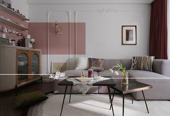 富裕型三室两厅法式风格客厅装修案例