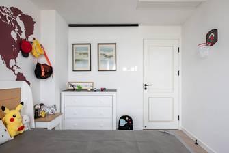 20万以上100平米三室两厅轻奢风格青少年房图