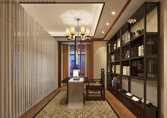 豪华型140平米三室两厅中式风格书房设计图