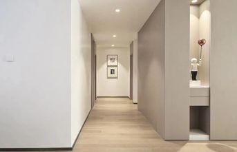 富裕型110平米三室一厅日式风格走廊图