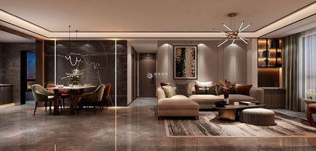 3-5万120平米三轻奢风格客厅装修案例