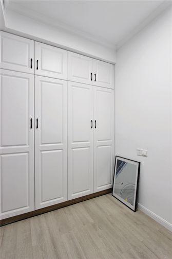 10-15万80平米三室两厅北欧风格衣帽间图