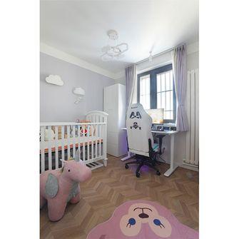 富裕型50平米现代简约风格卧室设计图