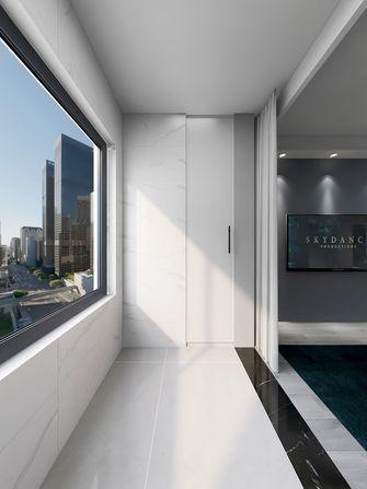 三室两厅现代简约风格阳台图