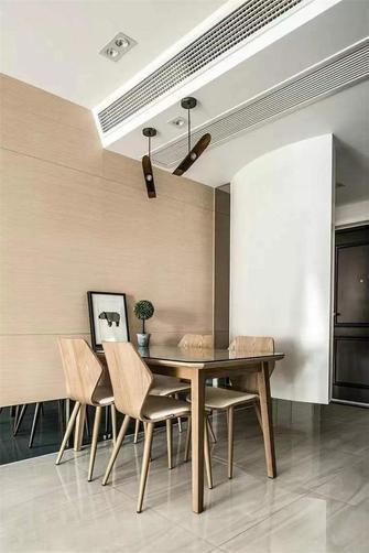 经济型80平米三室两厅港式风格餐厅装修案例