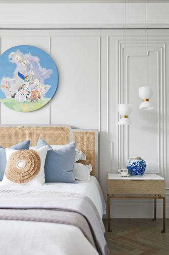 140平米三室两厅法式风格卧室欣赏图