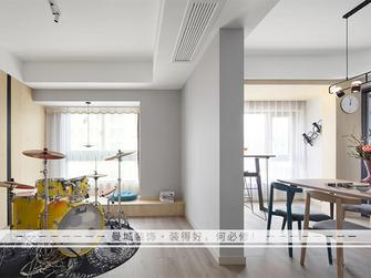 富裕型110平米三室两厅北欧风格影音室设计图