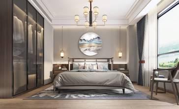 富裕型140平米四室两厅中式风格卧室装修图片大全