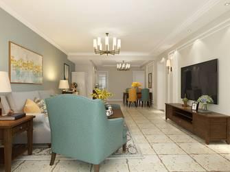 10-15万140平米三室一厅美式风格客厅图
