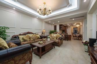 三美式风格客厅装修案例