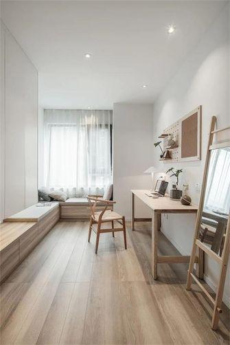 富裕型130平米三室两厅日式风格书房装修图片大全