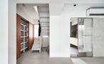 20万以上140平米复式田园风格楼梯间装修效果图