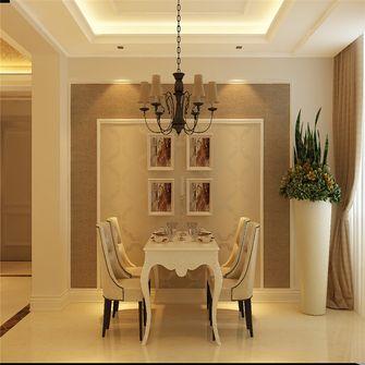 富裕型140平米三欧式风格餐厅装修效果图