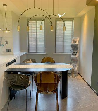 经济型90平米三室一厅现代简约风格餐厅装修图片大全
