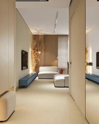 豪华型140平米三室一厅现代简约风格走廊装修图片大全