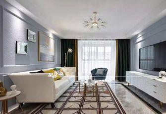 富裕型120平米三室三厅美式风格客厅欣赏图