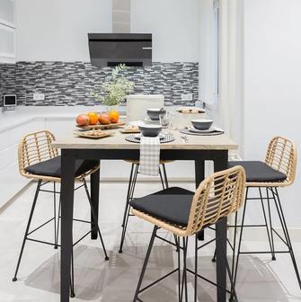 富裕型140平米四法式风格厨房装修案例