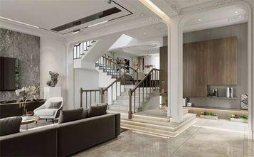 15-20万140平米别墅轻奢风格楼梯间装修效果图